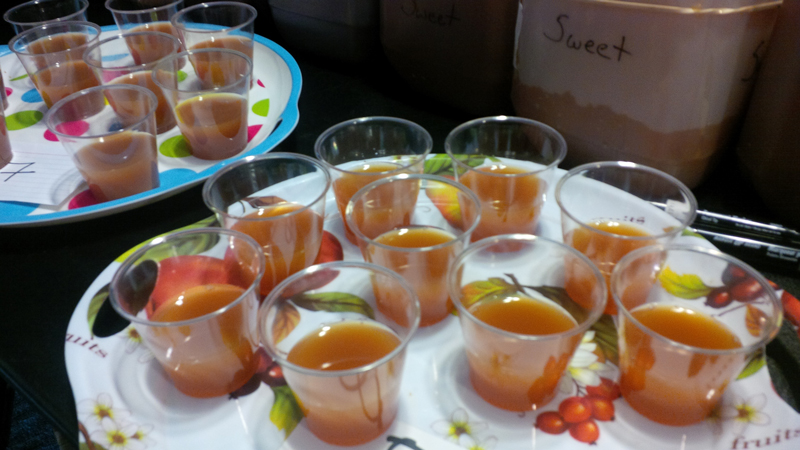 2016 OFVC Cider Competition Results