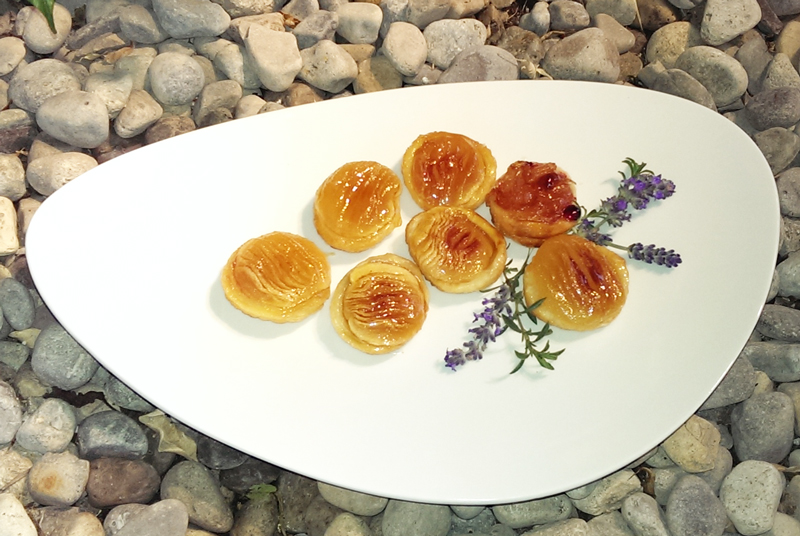 Bite-Sized Tart Tatin