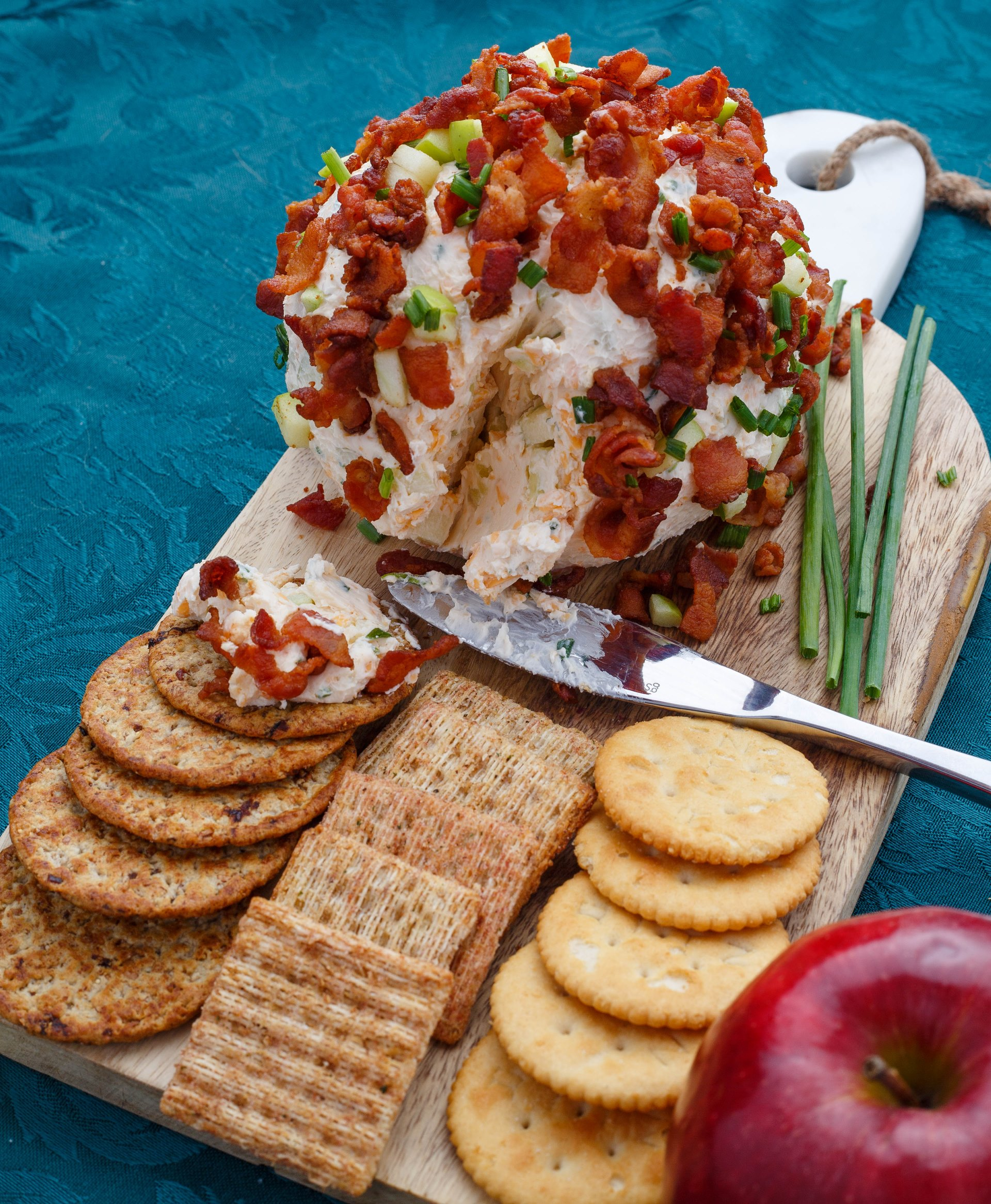 Apple Bacon Cheese Ball