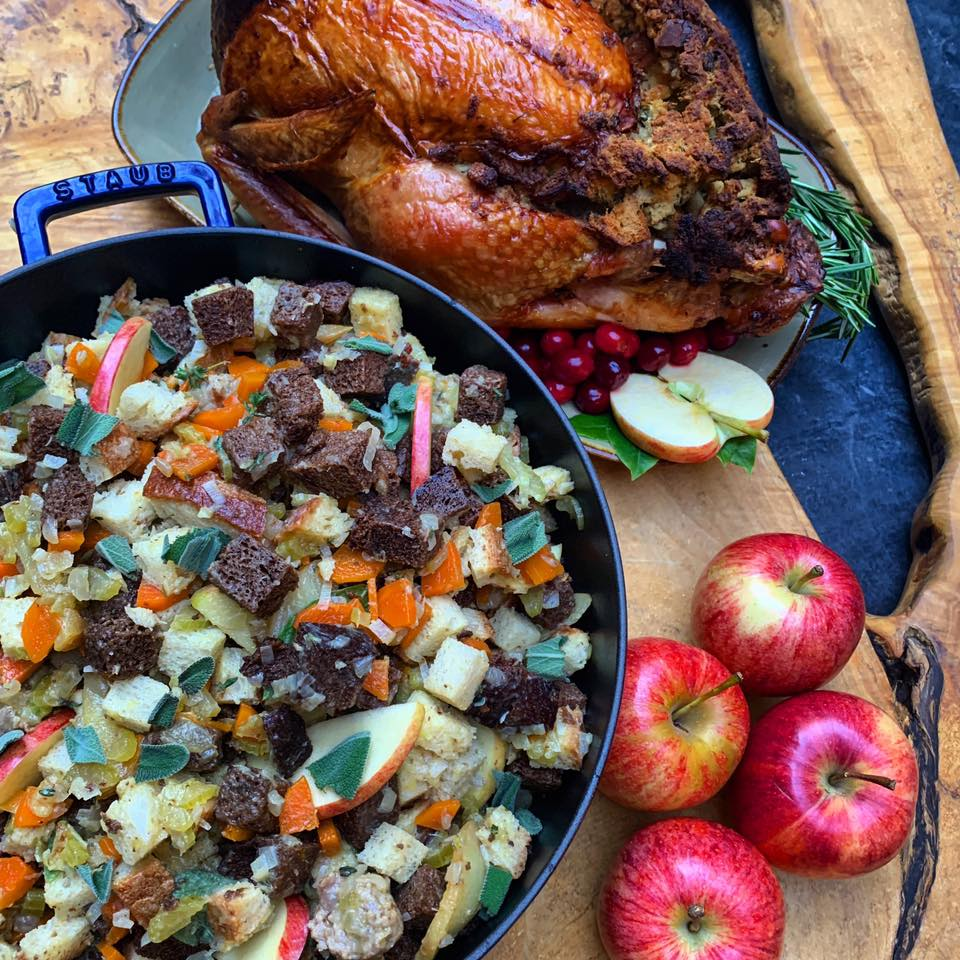 Roast Turkey Paysanne with Ontario Apple & Sausage Stuffing