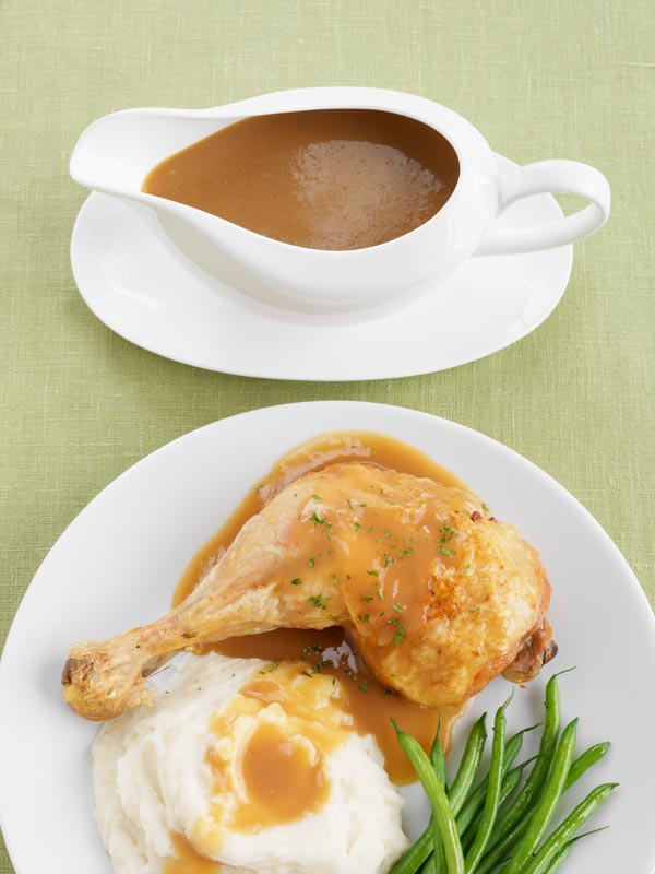 Roasted Ontario Apple Gravy