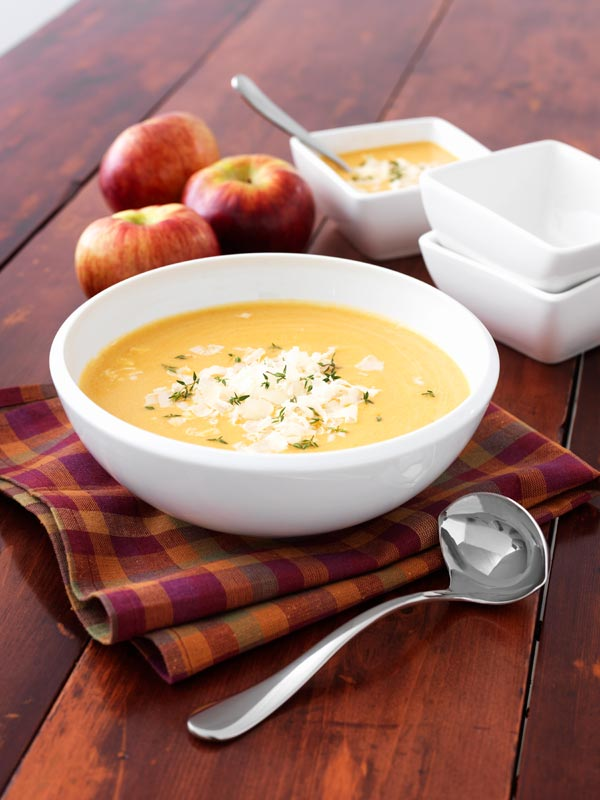 Ontario Apple Cheddar Soup