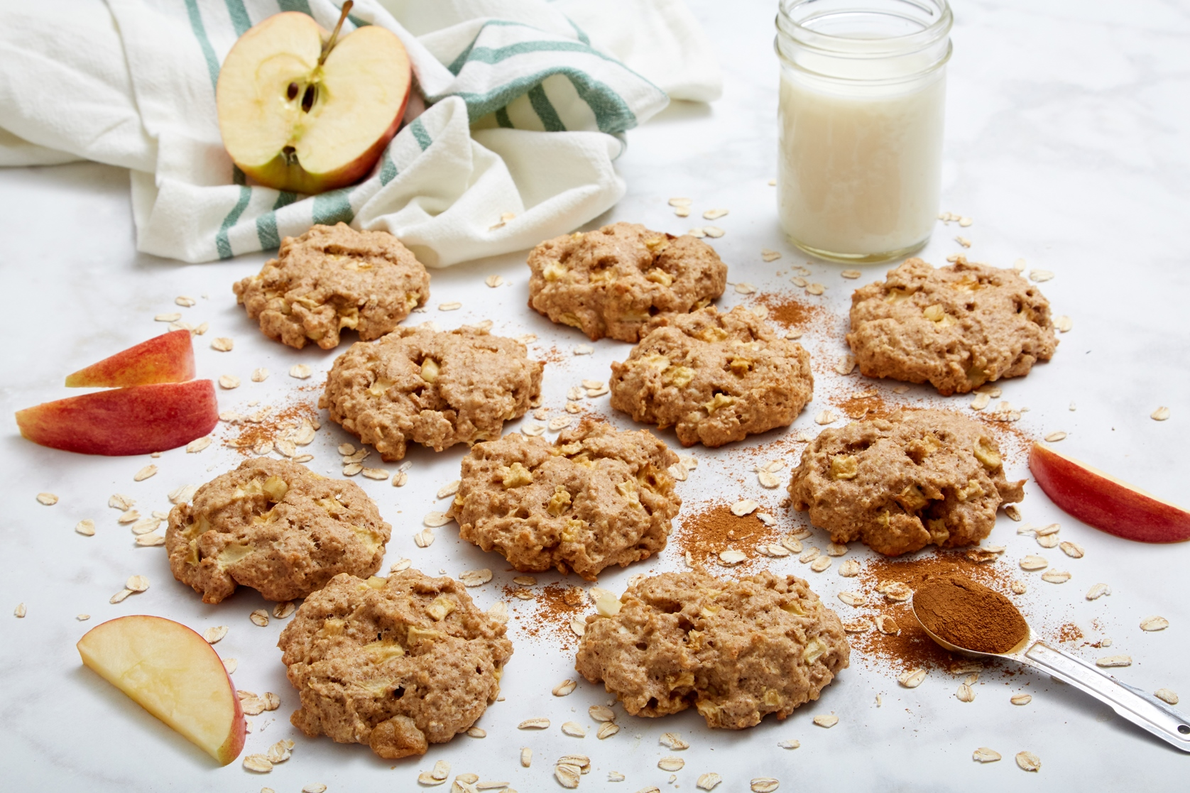 Soft Apple Pie Breakfast Cookies